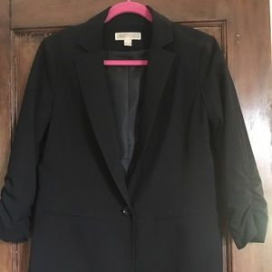 Michael Kors black boyfriend blazer